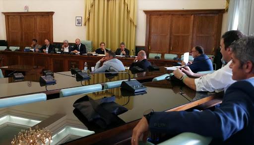 Provincia di Frosinone – La Conferenza Capigruppo sospende l'attività delle commissioni consiliari