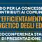 Domani videoconferenza per presentare il bando Contributi per l'Efficientamento Energetico dei Comuni