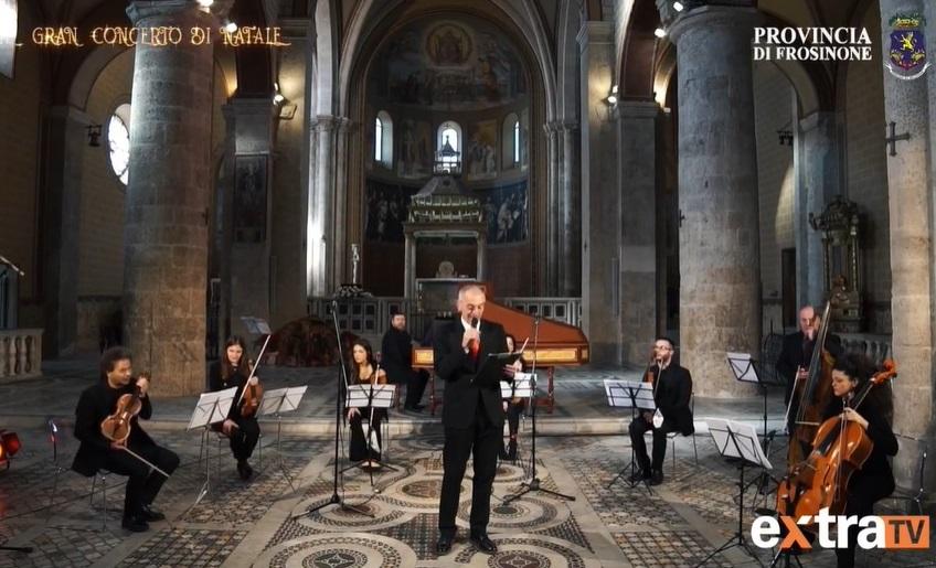 Un trionfo il concerto di Natale nella Cattedrale di Anagni