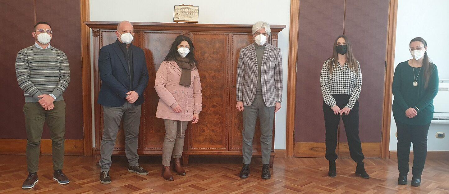 Il Presidente Pompeo incontra i nuovi dipendenti della Provincia