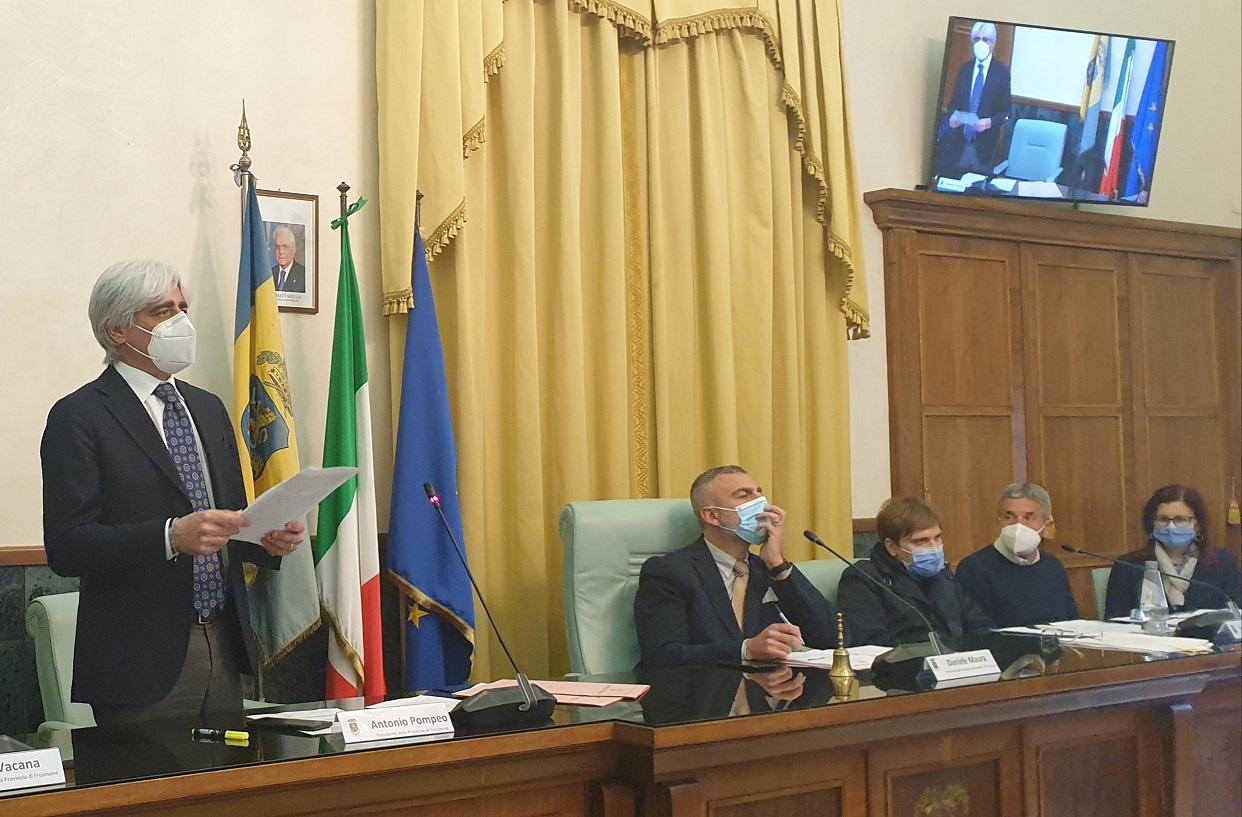 Il Consiglio Provinciale approva il Bilancio di Previsione 2021
