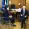 Pompeo incontra l'assessore regionale Corrado per parlare del riordino delle Province