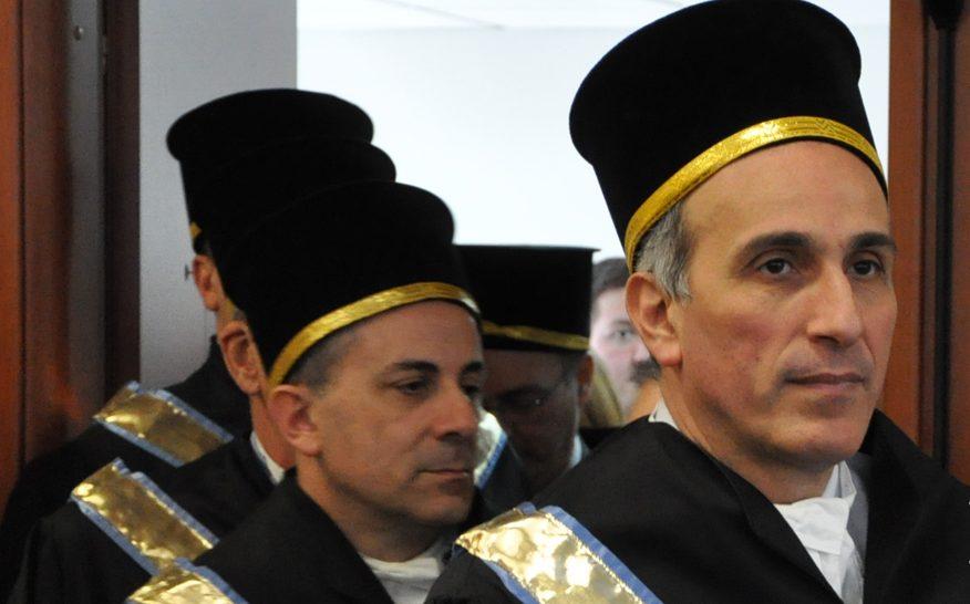 Gli auguri del presidente Pompeo al nuovo rettore dell'Unicas, Marco Dell'Isola