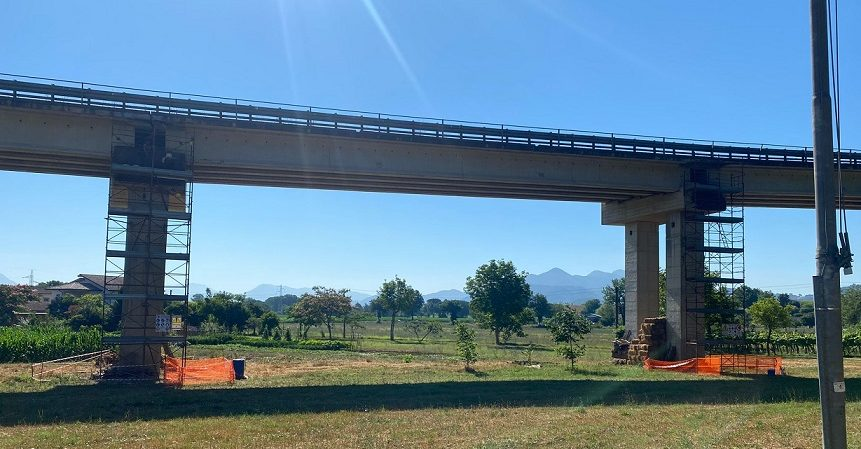 """Operazione """"Ponti Sicuri"""": via ai lavori al viadotto """"Enel"""" a Esperia"""