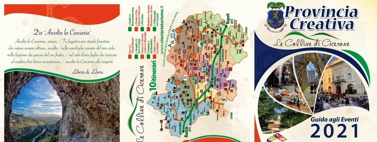 """La Provincia presenta la """"Guida agli eventi culturali 2021"""""""